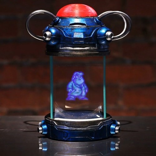 replica,IRL,hologram,mega man