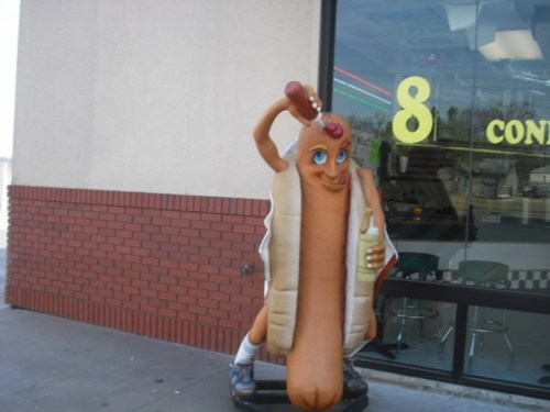 wtf,statue,hotdogs
