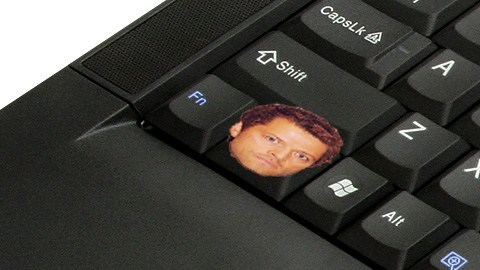 control,misha collins,keyboard