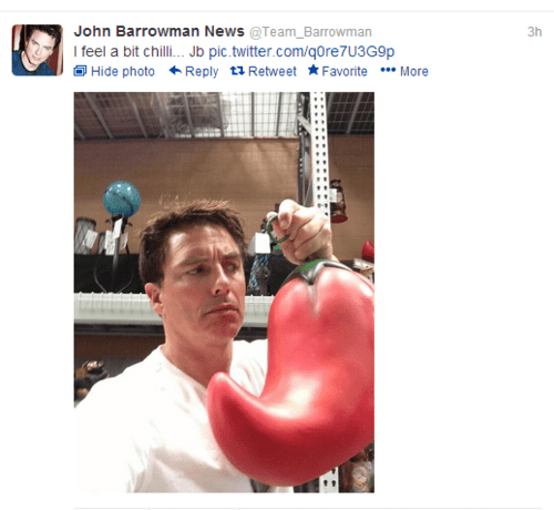 news,chili,john barrowman