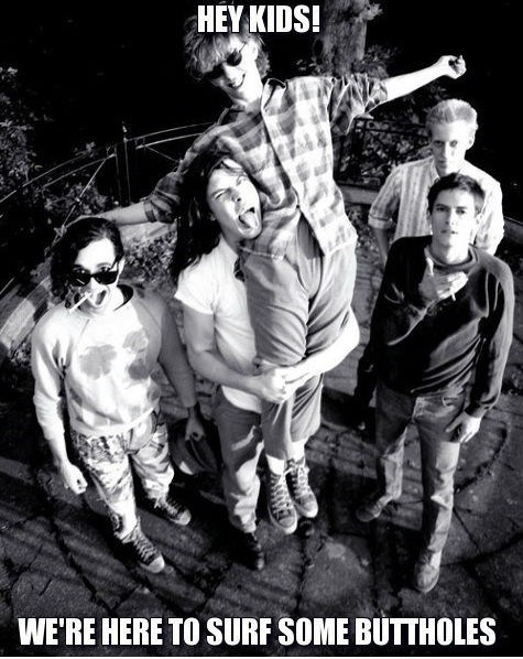 butthole surfers,band photos,90s