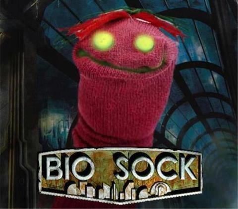 sock wtf bioschock - 7295092992