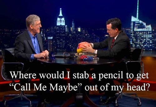 stephen colbert call me maybe neuroscience interview - 7296089088