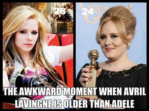 that awkward moment,adele