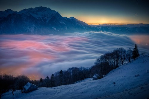 Switzerland,landscape,mountains,winter