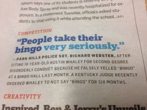 news weird bingo g rated fail nation - 7297041152