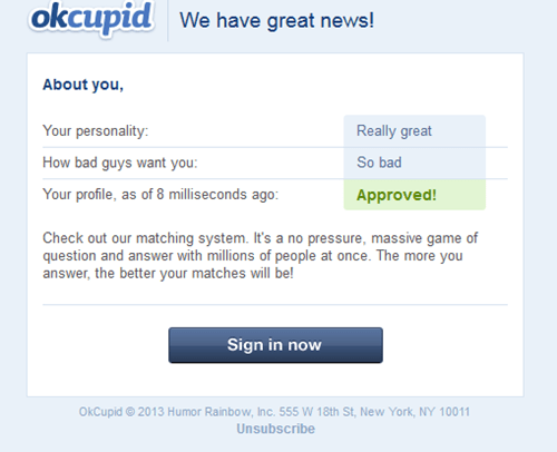 okcupid,approved,dating sites