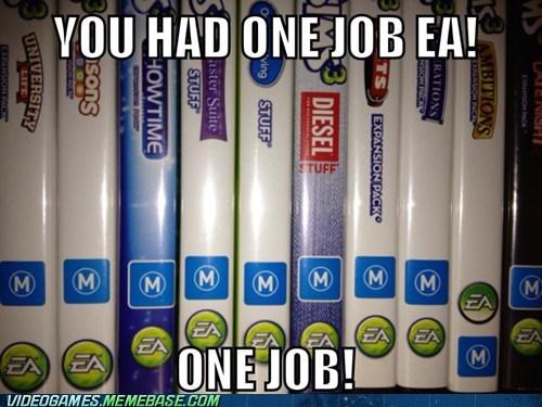 you had one job,EA,symbols