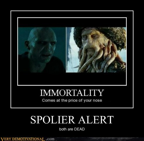 voldemort davy jones immortality