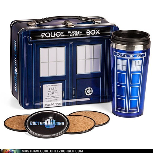 doctor who lunch box tardis - 7299422464