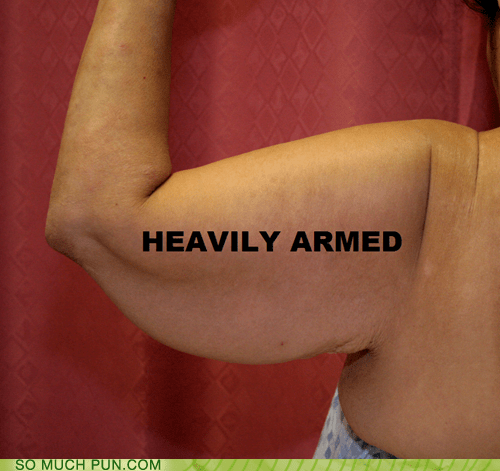 arm fat heavily armed - 7299842816