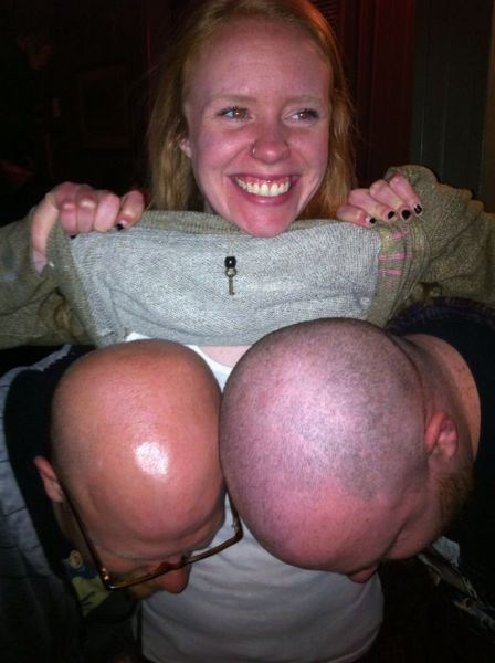 flashing bald bewbs - 7301756416