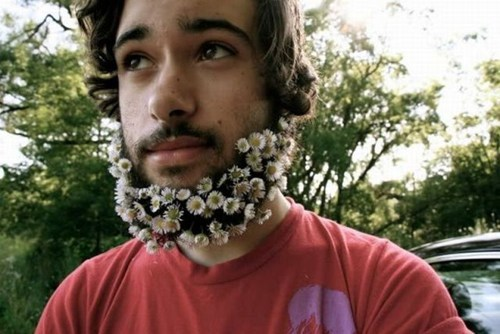 accessories flowers beards