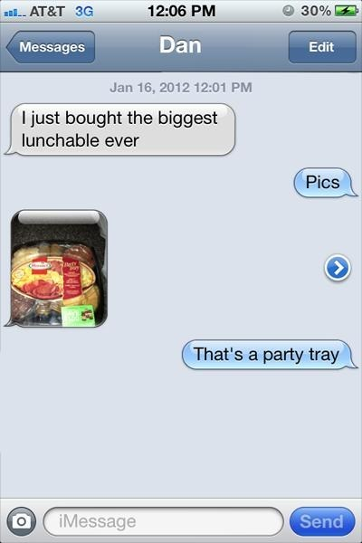 lunchable iPhones party tray AutocoWrecks g rated