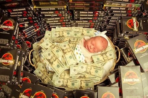 Babies wtf jurassic park money - 7302335488