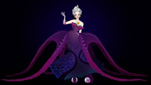 disney ursula Fan Art - 7302352384