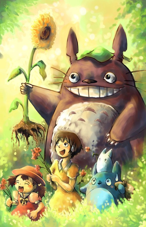 anime Fan Art studio ghibli my neighbor totoro - 7302366976