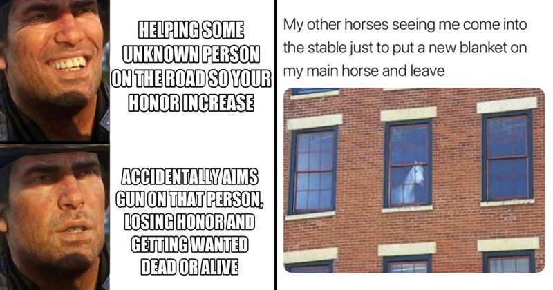 Funny memes about red dead redemption 2