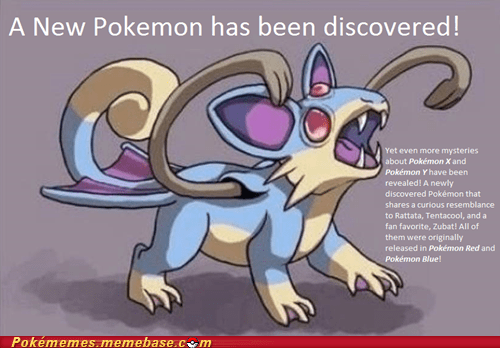 new pokemon,rumor,evolution,annoying,zubat,rattata,tentacool