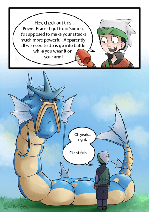 gyarados,Pokémon,comics