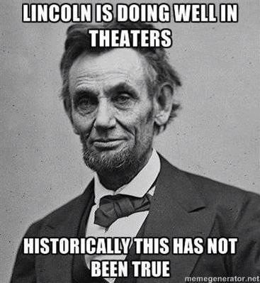 lincoln assassinated theaters
