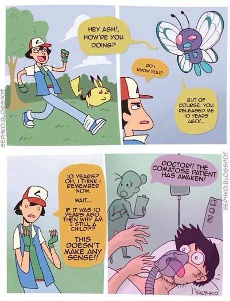 Pokémon theories comics Butterfree - 7303222272