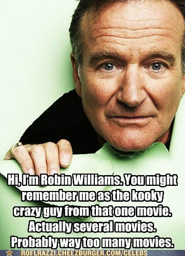 kooky,robin williams