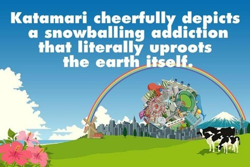 consumerism,the earth,katamari
