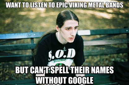 Skálmöld, Borknagar, Ásmegin, Thyrfing, Korpiklaani... What's the Problem?