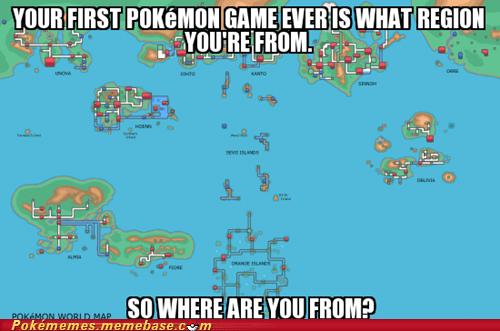 Pokémon regions Maps - 7303429120