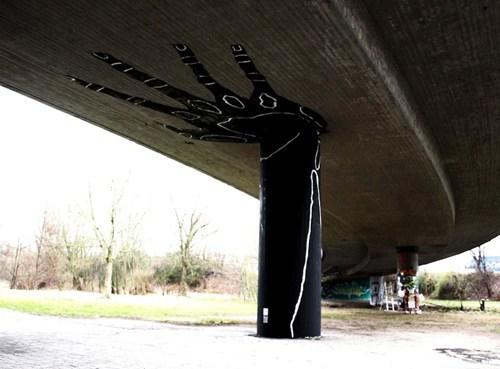 Street Art graffiti hacked irl - 7303516928