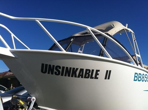 clever irony boat name - 7303526656