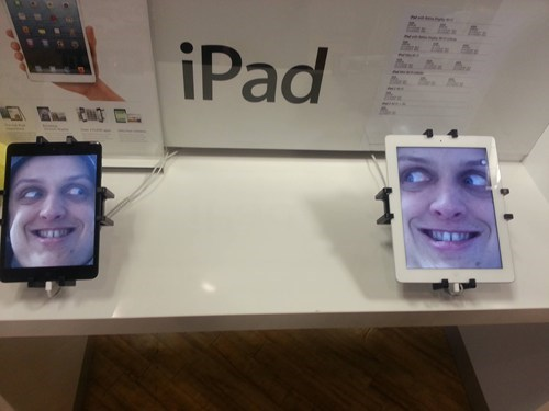 apple store,ipad,creepy