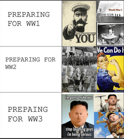 sad but true North Korea Memes wars world wars - 7303539712