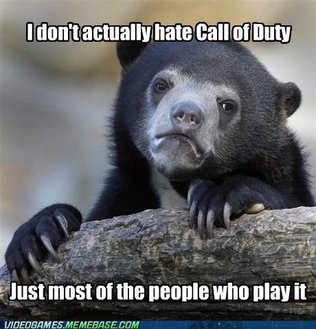 call of duty Memes Confession Bear - 7303587072