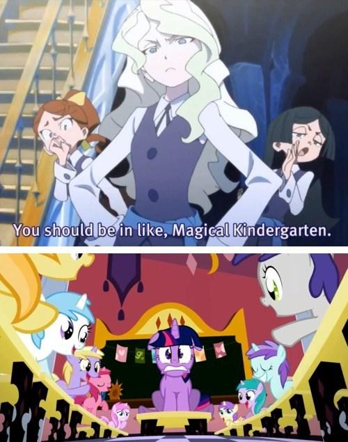 anime twilight sparkle magical kindergarten - 7304064768