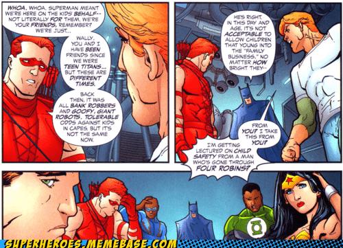 off the page awkward situation robins batman - 7305822720