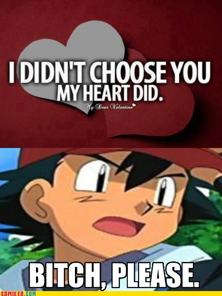 ash,Pokémon,heart,choices
