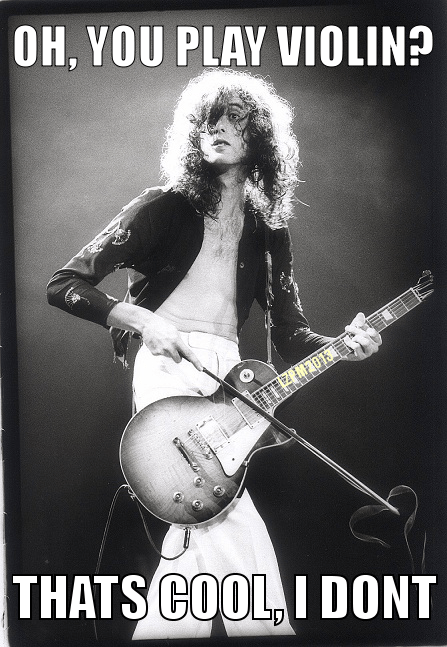 led zeppelin guitars violins Jimmy Page - 7307269632