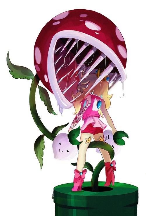 princess peach Fan Art video games - 7307427584