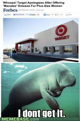 i-dont-get-it,manatees,Target