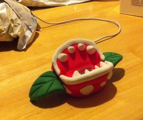 The Piranha Plant Phone Charger