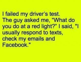 failed red light drivers-test - 7308601600