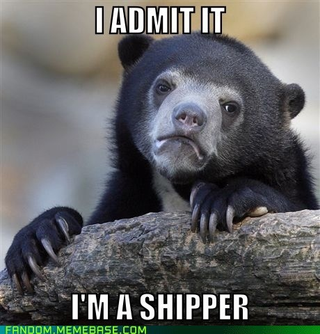 shipping,fandom problems,Confession Bear
