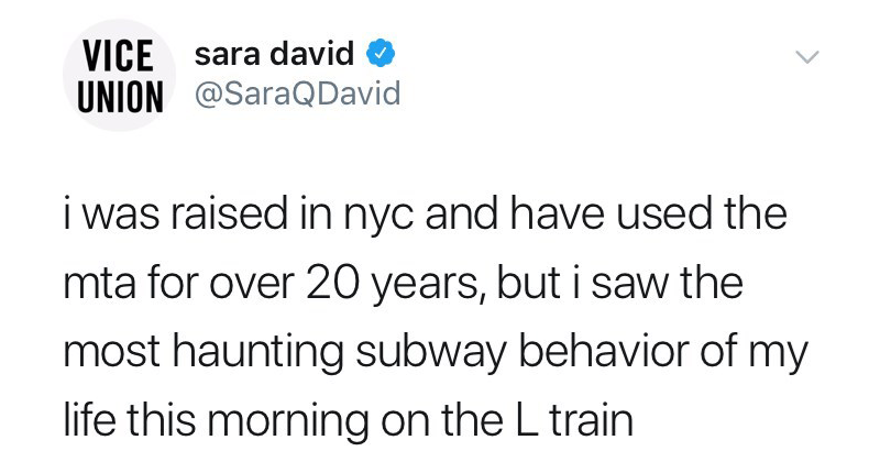 Funny subway saga, hard boiled eggs, sara davis.