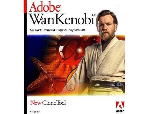 obi-wan kenobi photoshop adobe - 7310116608