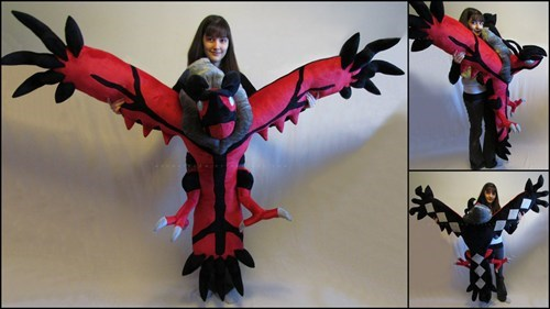IRL,yveltal,body pillow