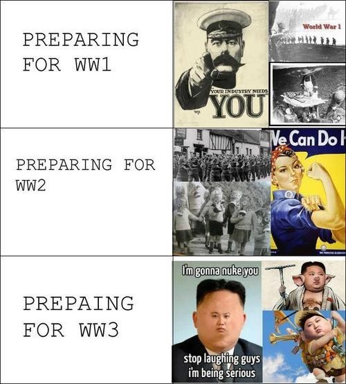 kim jong-un world war 3 world war 2 North Korea - 7310486784