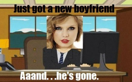 taylor swift,Music,boyfriends,and he's gone
