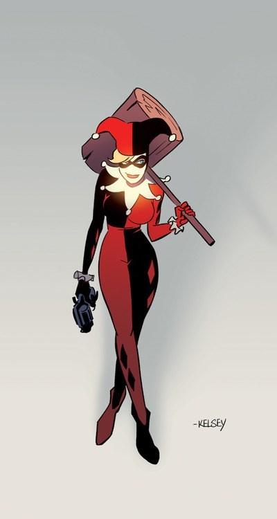 art,hammer,Harley Quinn